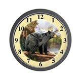 Black bear Wall Clocks