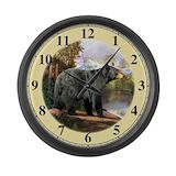 Black bear Giant Clocks
