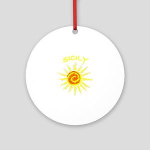 Sicily, Italy Ornament (Round)