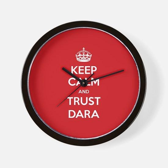 Trust Dara Wall Clock