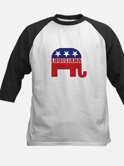 Louisiana Republican Elephant Baseball Jersey