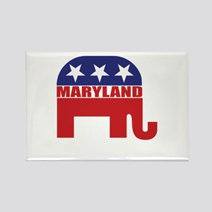 Maryland Republican Elephant Magnets
