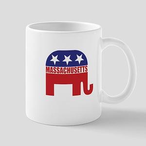 Massachusetts Republican Elephant Mugs