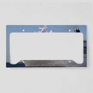 Cruise ship 19 License Plate Holder