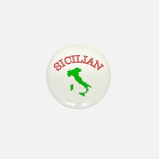 Sicilian Mini Button