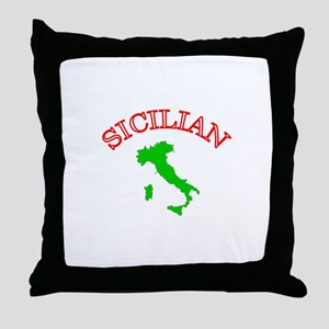 Sicilian Throw Pillow