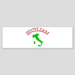 Sicilian Bumper Sticker