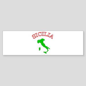Sicilia, Italia Bumper Sticker