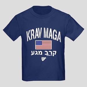 Krav Maga USA Kids Dark T-Shirt