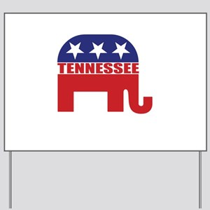 Tennessee Republican Elephant Yard Sign