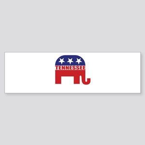Tennessee Republican Elephant Bumper Sticker