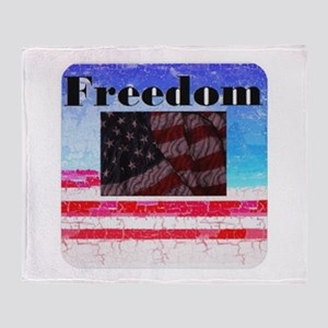 Freedom for All Throw Blanket