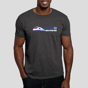High Speed Rail Charcoal Grey T-Shirt