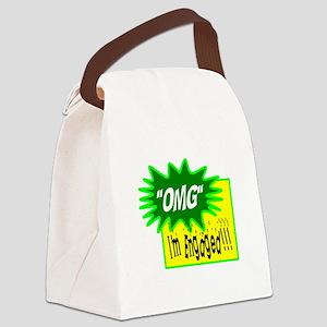 OMG, Im Engaged! Canvas Lunch Bag