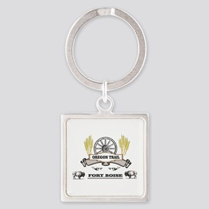 Fort Boise label Keychains