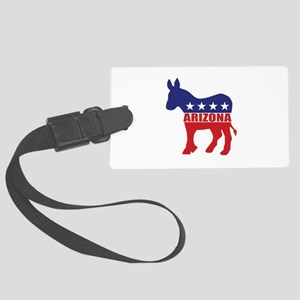 Arizona Democrat Donkey Luggage Tag