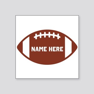 Customize a Football Sticker