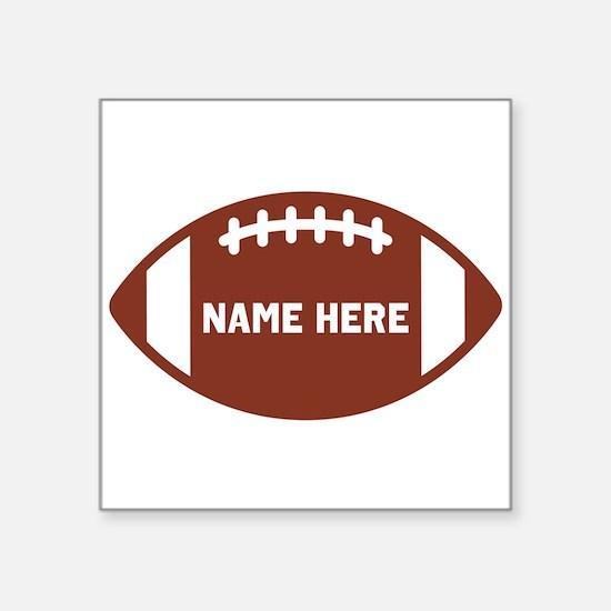 Customize a Football Sticker