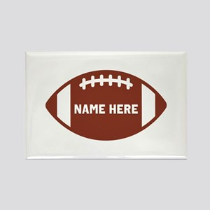Customize a Football Magnets
