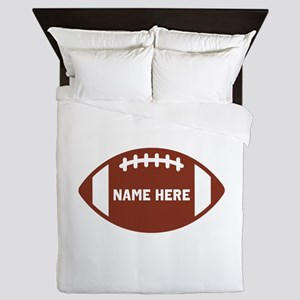 Customize a Football Queen Duvet