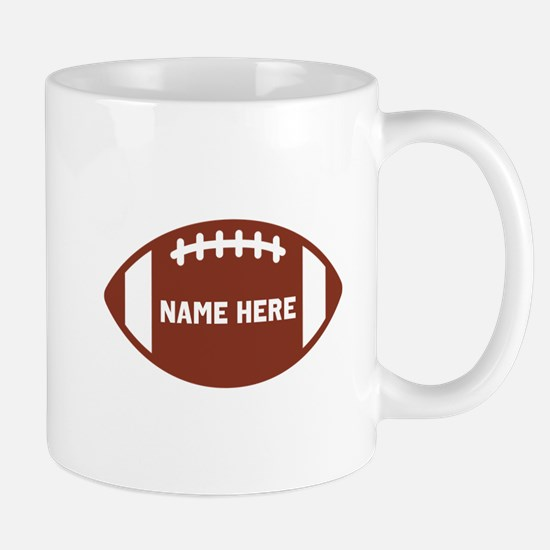 Customize a Football Mugs
