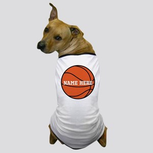 Customize a Basketball Dog T-Shirt