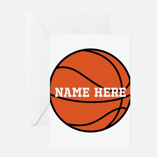 Basketball greeting cards cafepress customize a basketball greeting cards bookmarktalkfo Image collections