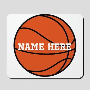 Customize a Basketball Mousepad