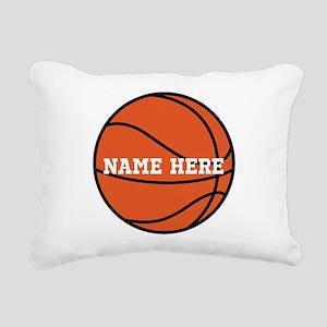 Customize a Basketball Rectangular Canvas Pillow