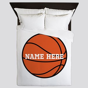 Customize a Basketball Queen Duvet
