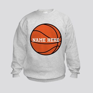 Customize a Basketball Sweatshirt