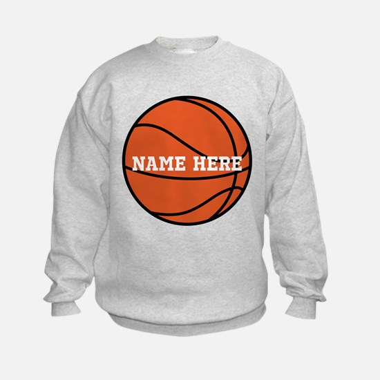 Customize a Basketball Sweatshirt