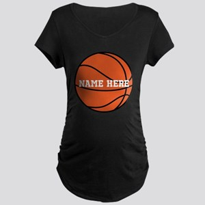 Customize a Basketball Maternity T-Shirt