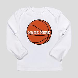 Customize a Basketball Long Sleeve T-Shirt