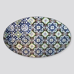 Mexican Talavera Tile design Sticker