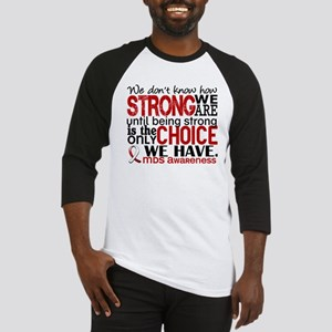 MDS How Strong We Are Baseball Jersey