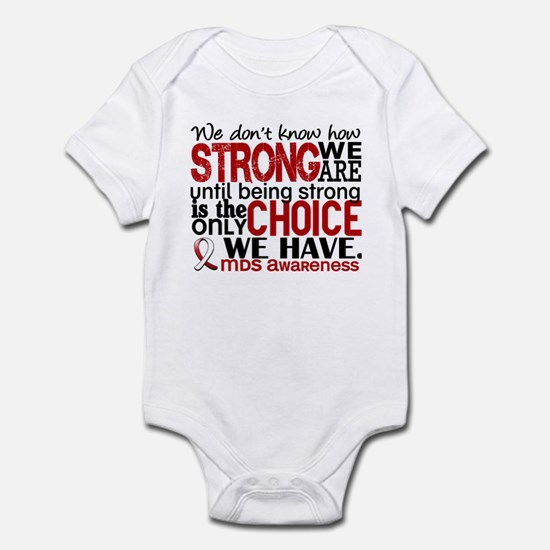 MDS How Strong We Are Infant Bodysuit