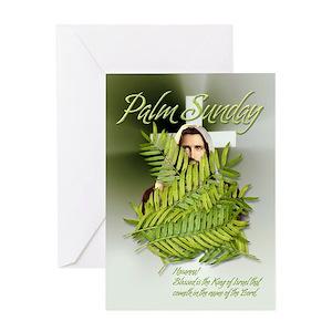 Palm sunday greeting cards cafepress m4hsunfo