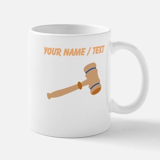 Custom Gavel Mugs