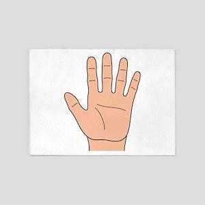 Left Hand 5'x7'Area Rug