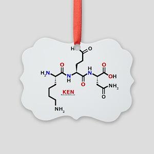 Ken molecularshirts.com Ornament