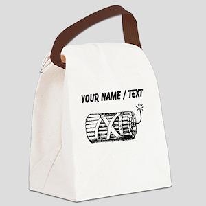 Custom Dynamite Canvas Lunch Bag