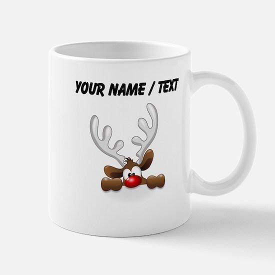 Custom Funny Reindeer Mugs