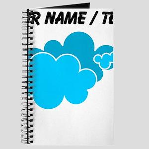 Custom Blue Clouds Journal