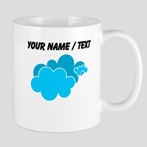 Custom Blue Clouds Mugs