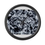 Flowering time Large Wall Clock
