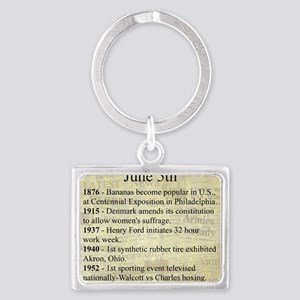 June 5th Keychains