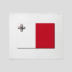 Flag of Canada Throw Blanket