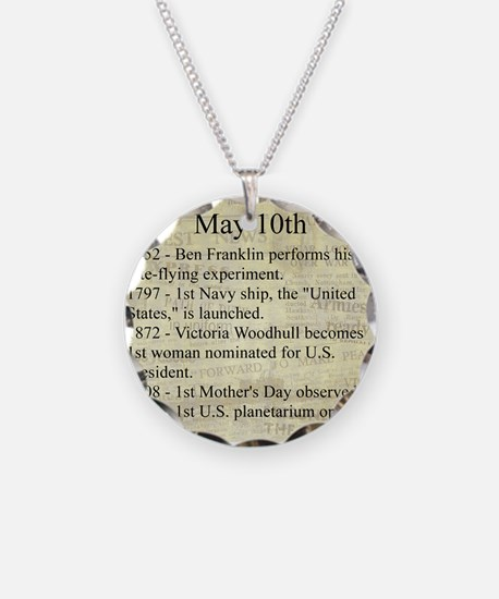 May 10th Necklace