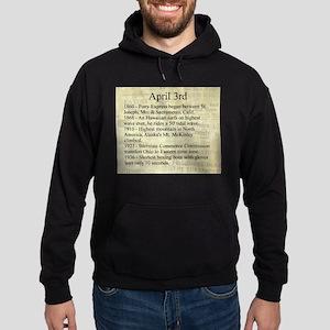April 3rd Hoodie (dark)